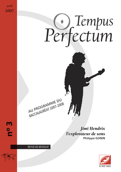 (couverture de Jimi Hendrix, l'explorateur de sons)