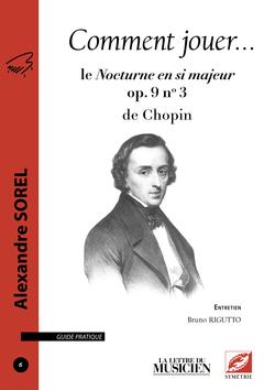 (couverture de Le Nocturne en si majeur op. 9 no 3 de Chopin)