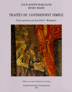 (couverture de Traités du contrepoint simple)