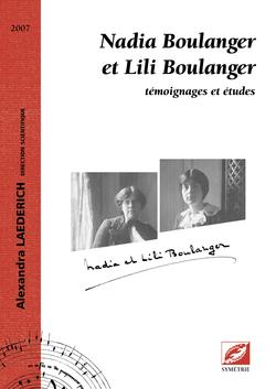 (couverture de Nadia Boulanger et Lili Boulanger)
