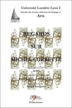 (couverture de Regards sur Michel Corrette)