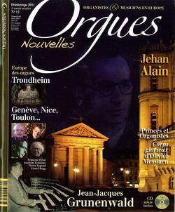 (couverture de Orgues nouvelles n° 12 (Printemps 2011))