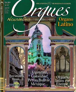 (couverture de Orgues nouvelles n° 13 (Été 2011))