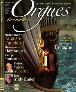 (couverture de Orgues nouvelles n° 14 (Automne 2011))
