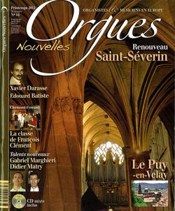 (couverture de Orgues nouvelles n° 16 (Printemps 2012))