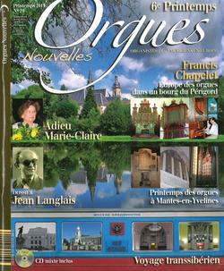 (couverture de Orgues nouvelles n° 20 (Printemps 2013))