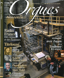 (couverture de Orgues nouvelles n° 22 (Automne 2013))