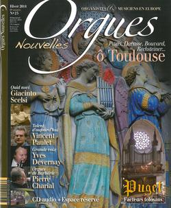 (couverture de Orgues nouvelles n° 23 (Hiver 2014))