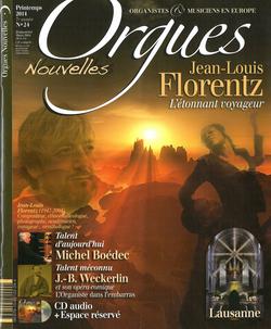 (couverture de Orgues nouvelles n° 24 (Printemps 2014))