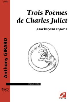 (couverture de Trois poèmes de Charles Juliet)