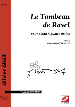 (couverture de Le Tombeau de Ravel)