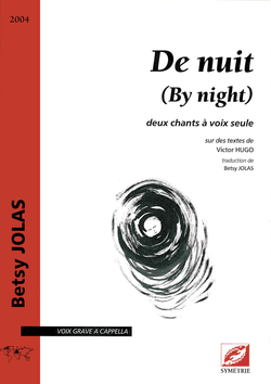 (couverture de De nuit (By night))