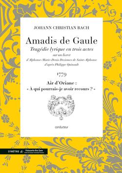 (couverture de Air d'Oriane extrait d'Amadis de Gaule)