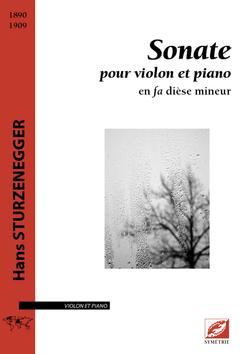 (couverture de Sonate pour violon et piano)