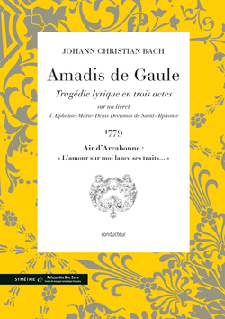 (couverture de Air d'Arcabonne extrait d'Amadis de Gaule)