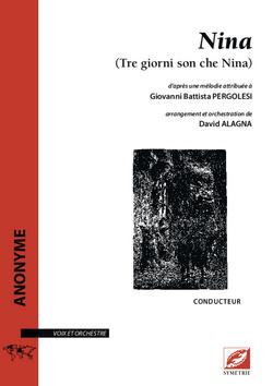 (couverture de Nina – Tre giorni son che Nina)