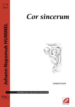 (couverture de Cor sincerum)