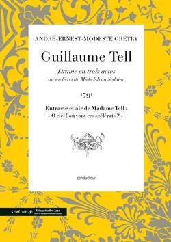 (couverture de Entracte et air de Madame Tell extrait de Guillaume Tell)