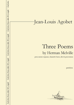 (couverture de Three Poems by Herman Melville)