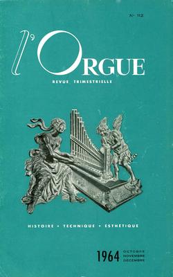 (couverture de L'orgue de Notre-Dame-aux-Neiges à Aurillac — L'orgue de l'abbaye bénédictine de Saint-Pierre de Modène — L'orgue de l'église Saint-Suliau de Sizun, diocèse de Quimper (I))