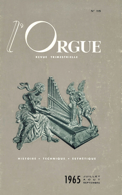 (couverture de Les orgues de la basilique Saint-Vincent, à Metz (II) — Introduction à l'étude de l'œuvre de Charles Tournemire — Orgues et organistes des églises et abbayes disparues du diocèse de Troyes (I))
