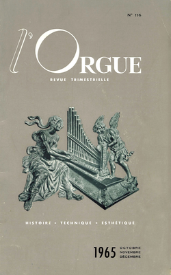 (couverture de Le grand orgue de la cathédrale de Toul (I) — L'orgue à la cour moscovite au cours de la deuxième moitié du XVIIe siècle (I) — L'orgue en Europe centrale et orientale (IV))