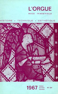 (couverture de L'activité des Amis de l'Orgue, saison 1966-1967 – À Bruges, été 1967 – Chroniques)