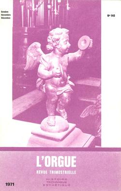 (couverture de Hommage à Marcel Dupré — Le grand orgue de la cathédrale du Mans à travers les âges (II) — Activités des Amis de l'Orgue. Saison 1970-1971 — Chroniques)