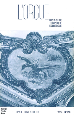 (couverture de Le grand orgue de Notre-Dame de Vitré — L'orgue paroissial de Neauphle-le-Château — L'orgue de Saint-Pierre de Caen — L'orgue de Saint-Félix du Lauraguais — L'orgue en Uruguay)
