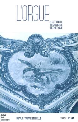 (couverture de Aperçu de la musique finlandaise contemporaine pour orgue — Les orgues de Grenoble et de la région grenobloise — L'orgue de Saint-Étienne de Caen)