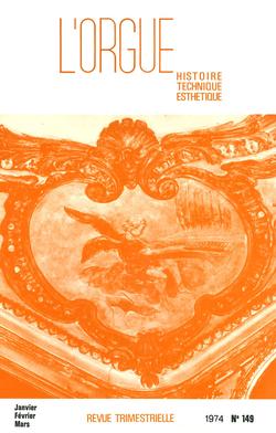 (couverture de L'école d'orgue catalane au XVIIIe siècle — Le grand orgue de la cathédrale de Sées — Une famille de facteurs d'orgues ardennais: les Renault)