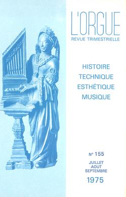 (couverture de Souvenirs de la classe d'Eugène Gigout — Orgue de Saint-Pierre-du-Gros-Caillou à Paris — Orgues de l'abbaye de Faremoutiers — Orgue de l'abbatiale de Beaulieu — Restauration d'orgues au Portugal)