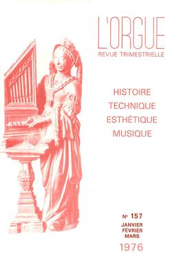 (couverture de L'orgue aux Baléares — La musique d'orgue hier, aujourd'hui, demain — Elfrida Andree — Hommage à Dom Joseph Kreps — L'orgue de la basilique Saint-Nazaire et Saint-Celse de Carcassone)