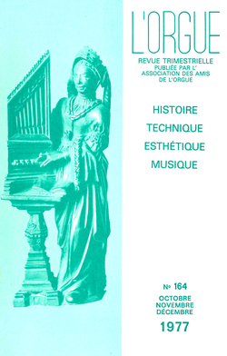 (couverture de Notes sur les orgues d'Aix-en-Provence — Les orgues de l'église luthérienne de la Rédemption à Paris — L'orgue de l'église collégiale de Pignans (Var))