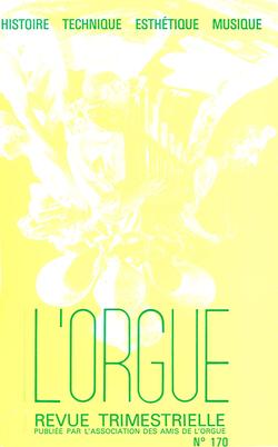 (couverture de Les grandes orgues de la cathédrale de Montpellier — Le facteur d'orgues, aujourd'hui — Marie-Louise Boëlmann-Gigout)