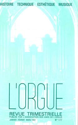 (couverture de Aperçu sur la situation juridique des orgues dans les églises de culte catholique en France — La désignation sous le titre de Livres d'orgue de recueils de Georges Migot)