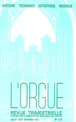 (couverture de Cavaillé-Coll à Elbeuf — L'orgue de Saint-François du Havre — Les orgues de la basilique pontificale San Miguel de Madrid)