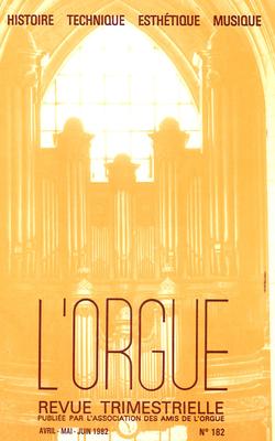 (couverture de Charles-Marie Widor, Louis Vierne et Marcel Dupré sur les bords du Rhin — Les facteurs d'orgues orléanais)