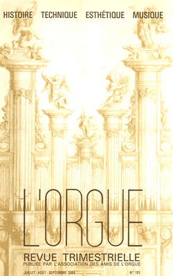 (couverture de En parcourant la Chronique d'Arthur Heulard — Deux orgues Rabiny-Callinet dans le Haut-Rhin — Dynam-Victor Fumet — Pierre Eschenbrenner — Quelques glannes sur les orgues bretonnes)