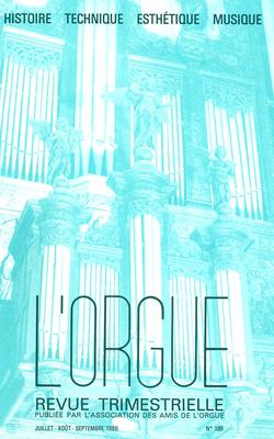 (couverture de Jouer de l'orgue à l'Église catholique? — Paul Hofhaimer à l'orgue du Triomphe de Maximilien — L'orgue de Saint-Bonaventure de Lyon — L'orgue de Notre-Dame de Nantilly à Saumur)