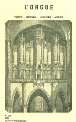 (couverture de Une curiosité: l'œuvre d'orgue de Jean-Sébastien Bach doigtée par César Franck — Le Chanoine Henri Doyen — Marcel Paponaud — Flor Peeters)