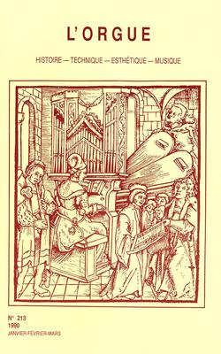 (couverture de Introduction à l'étude des transmissions électropneumatiques dans l'orgue au XIXe siècle)