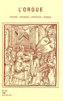 (couverture de Gustav Adolf Merkel — Les orgues des Grands Carmes, Lyon — La musique d'orgue portugaise — Le grand orgue de Jordi Bosch à Santanyi, île de Mallorca)