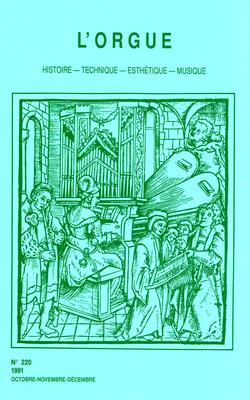 (couverture de Mozart et l'orgue — Le grand orgue de Saint-Nazaire à Carcassonne: construction et travaux du XIIe siècle — Autour du nouvel orgue de St. Martin in the Fields de Londres — Pierre Moreau)