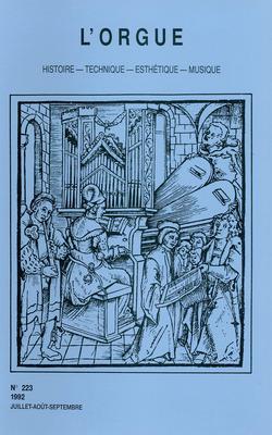 (couverture de Les organistes français du XIXe siècle et la tradition de J. S. Bach — Le grand orgue Rieger du nouveau Conservatoire de Paris)