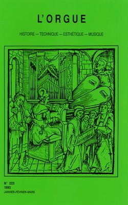 (couverture de Le Groupe des Six et l'Orgue — Noëlie Pierront (1899-1988) — L'orgue d'étude Yves Fossaert)