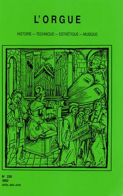 (couverture de Le grand orgue de l'église Saint-Nicolas de Blois — Le grand orgue et les organistes de Saint-Pothin de Lyon — Une dynastie de facteurs de clavecin: quelques notes sur la famille Hemsch)