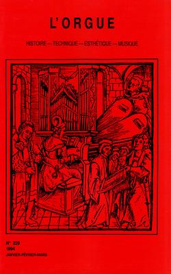 (couverture de À propos d'un manuscrit ayant appartenu à M. Balbastre, de Saint-Jean-de-Losne — Organ Music in the Mass of the Parisian Rite — Un grand orgue dans un grand magasin — Edmond Costa)