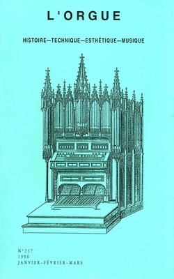 (couverture de La reconstruction de l'orgue de la Chapelle royale de Versailles — L'École d'orgue de Martini. Son influence sur la technique des maîtres français du XIXe siècle)