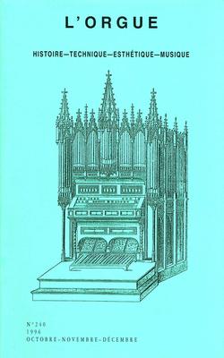 (couverture de 19 fragments du Livre Ouvert — L'orgue du C.N.R. de Dijon)